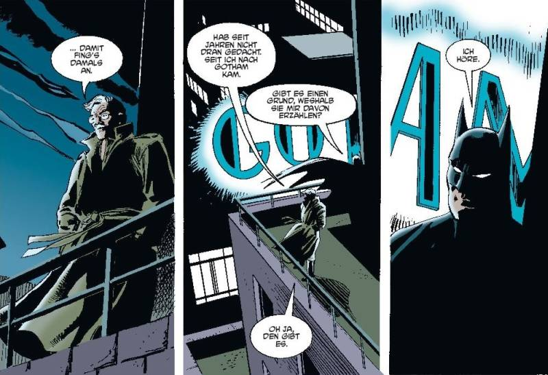 Ausschnitt aus Batman: Gordon aus Gotham | © Panini