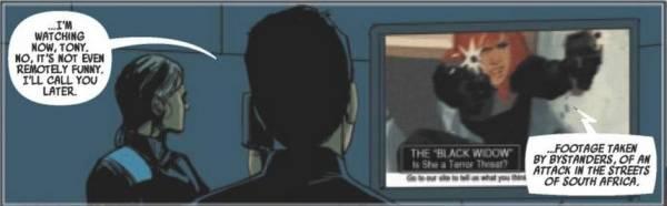 Ausschnitt aus Black Widow 2: Tödliche Begegnungen | © Panini