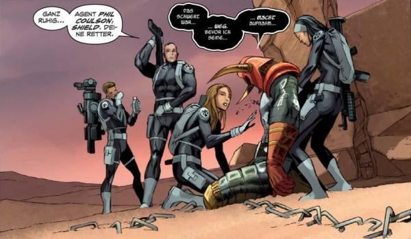 Ausschnitt aus S.H.I.E.L.D. 1: Helden und Agenten | © Panini