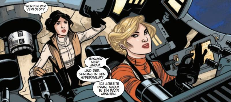 Ausschnitt aus Star Wars: Prinzessin Leia | © Panini