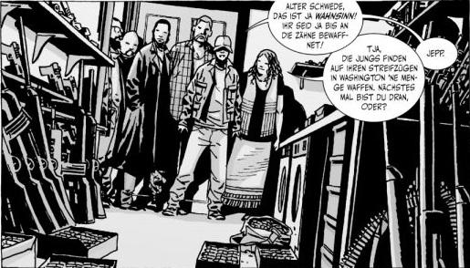 Ausschnitt aus The Walking Dead 13: Kein Zurück | © Cross Cult