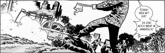 Ausschnitt aus The Walking Dead 14: In der Falle | © Cross Cult