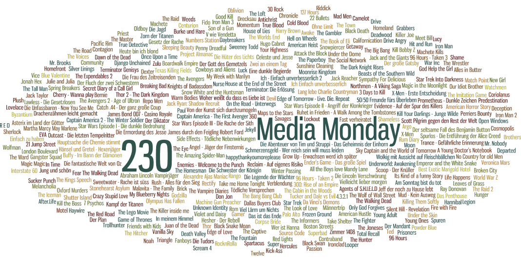 Media Monday #230