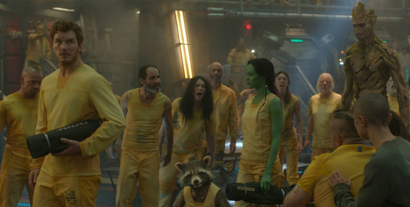 Szenenbild aus Guardians of the Galaxy | © Walt Disney