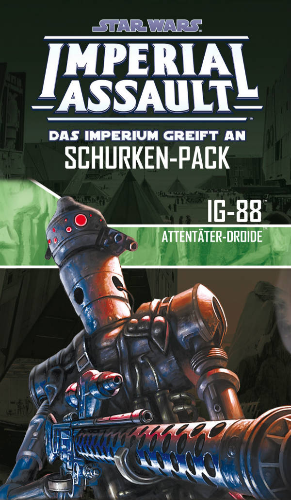 Star Wars: Imperial Assault - IG-88 Schurken-Pack | © Heidelberger Spieleverlag