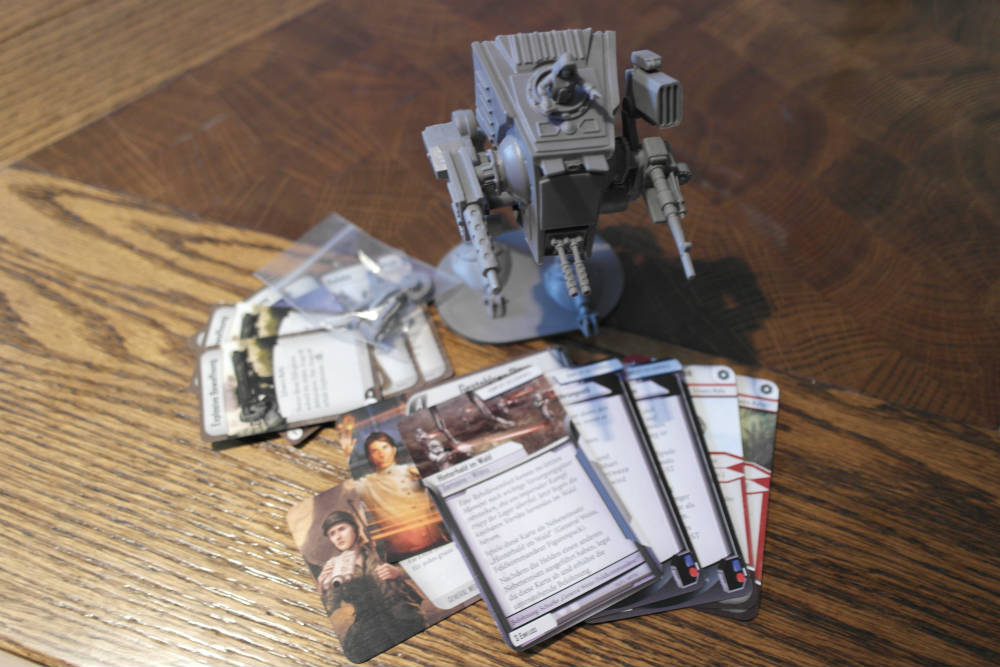 Star Wars: Imperial Assault - General Weiss Schurken-Pack | © Heidelberger Spieleverlag