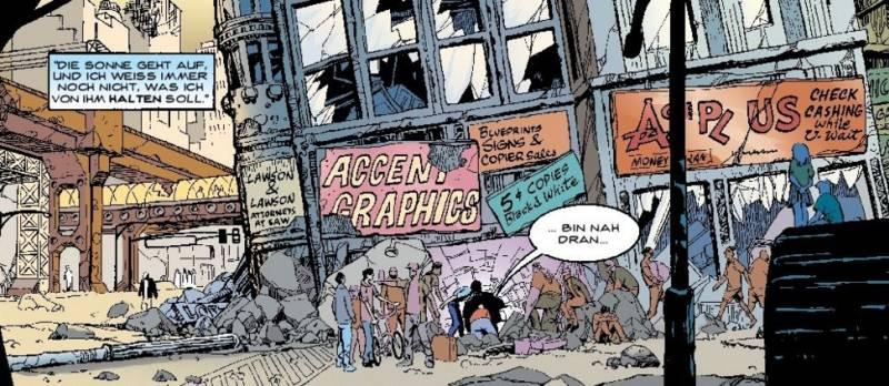 Ausschnitt aus Gotham Central 2: Doppeltes Spiel | © Panini