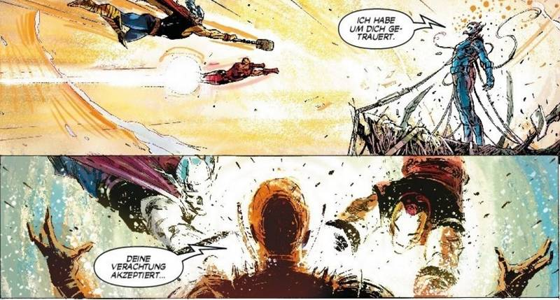Ausschnitt aus Avengers: Ultrons Zorn | © Panini