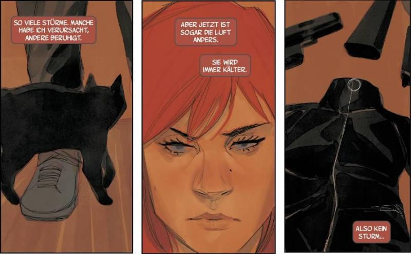 Ausschnitt aus Black Widow 3: Chaos | © Panini