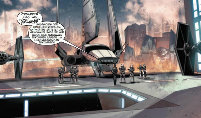 Ausschnitt aus Star Wars: Imperium in Trümmern | © Panini