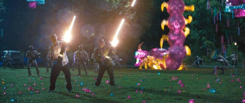 Szenenbild aus Pixels   © Sony Pictures Home Entertainment Inc.