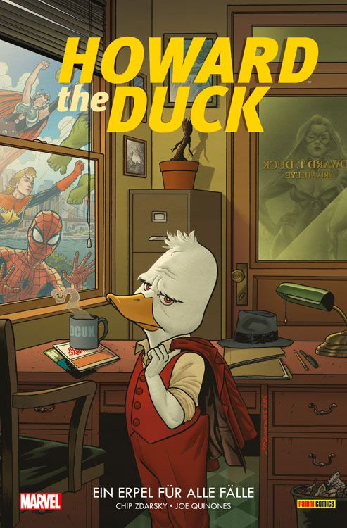 Howard the Duck 1: Ein Erpel für alle Fälle | © Panini