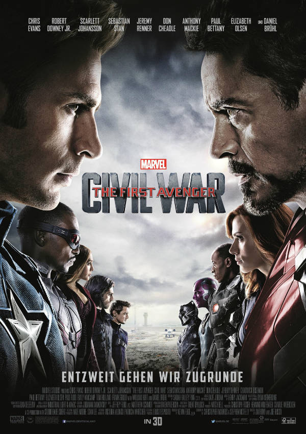 Captain America 3: Civil War | © Walt Disney