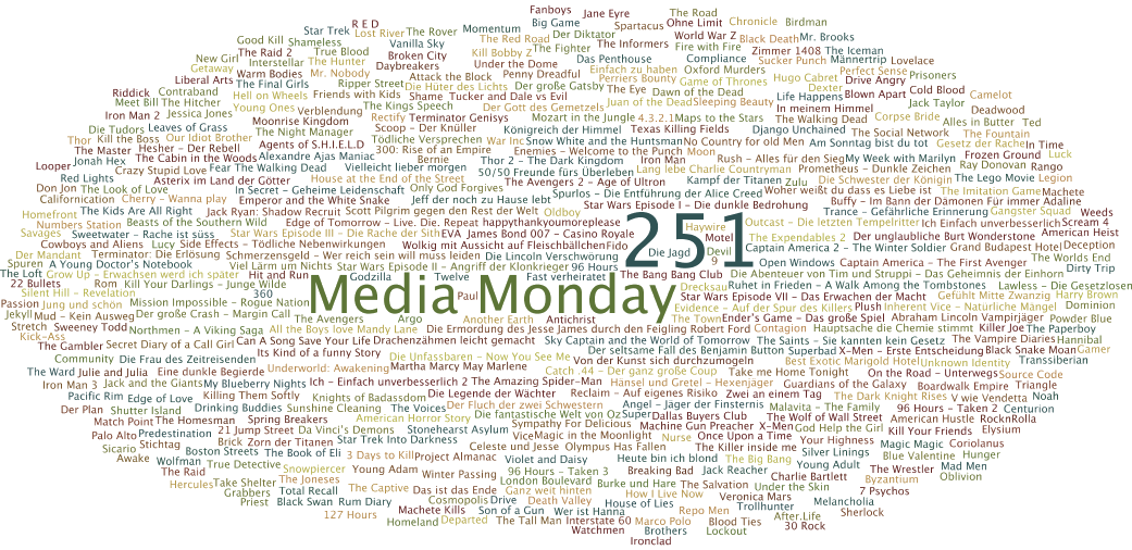 Media Monday #251