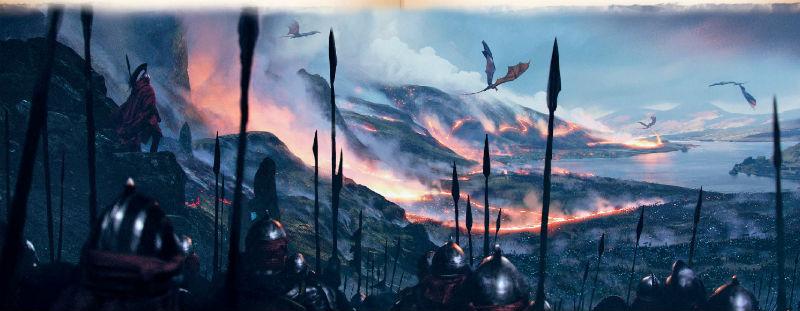 Ausschnitt aus Westeros: Die Welt von Eis und Feuer | © Penhaligon