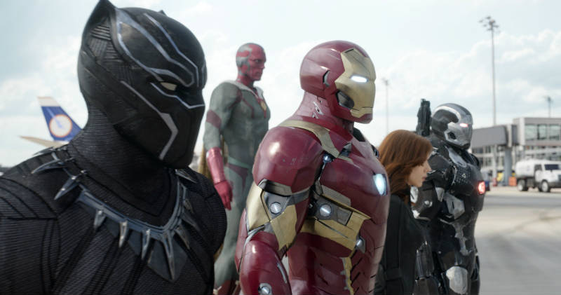 Szenenbild aus Captain America 3: Civil War   © Walt Disney