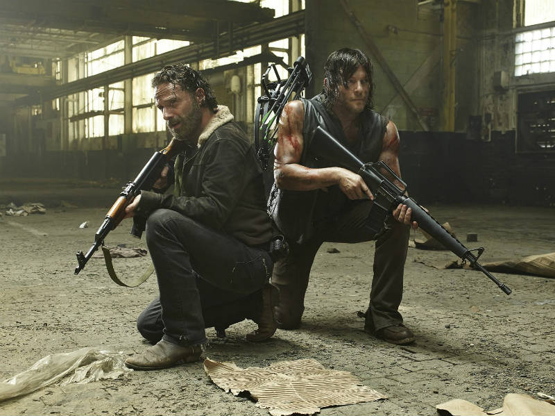 Szenenbild aus The Walking Dead | © WVG Medien