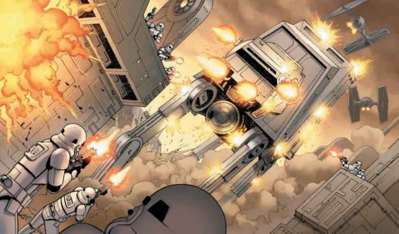 Ausschnitt aus Star Wars: Skywalker schlägt zu | © Panini