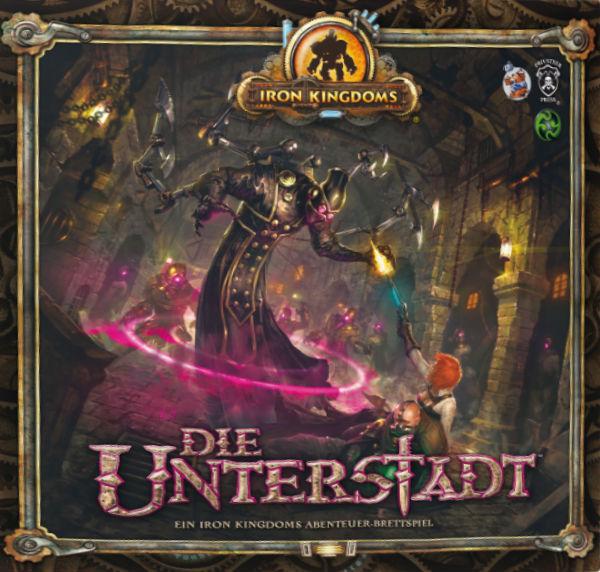 Iron Kingdoms – Die Unterstadt | © Ulisses Spiele / Heidelberger Spieleverlag