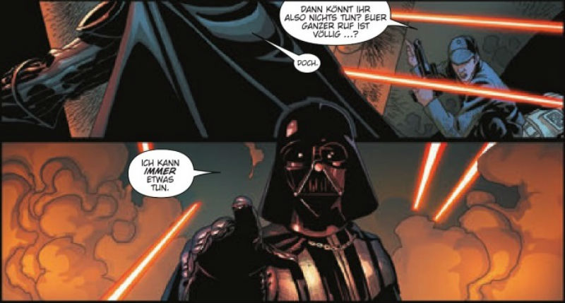 Ausschnitt aus Star Wars: Darth Vader | © Panini
