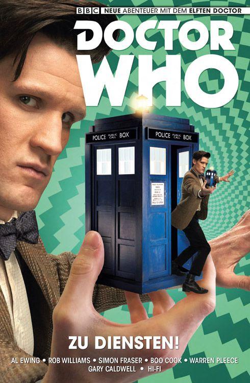 Doctor Who: Der elfte Doctor 2 - Zu Diensten | © Panini