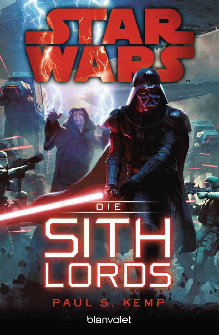 Star Wars: Die Sith-Lords von Paul S. Kemp | © Blanvalet