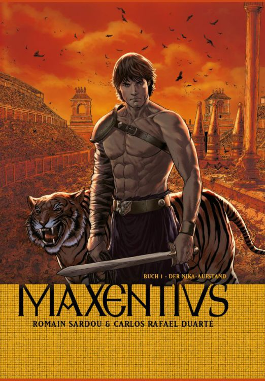 Maxentius 1: Der Nika-Aufstand | © Panini