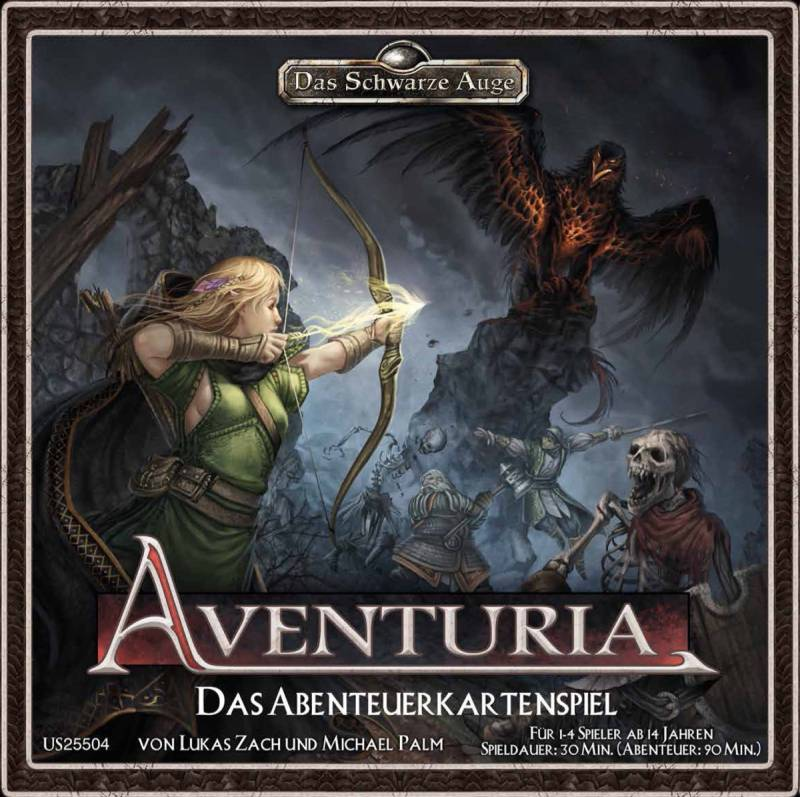 Aventuria - Das Abenteuerkartenspiel | © Ulisses Spiele / Heidelberger Spieleverlag