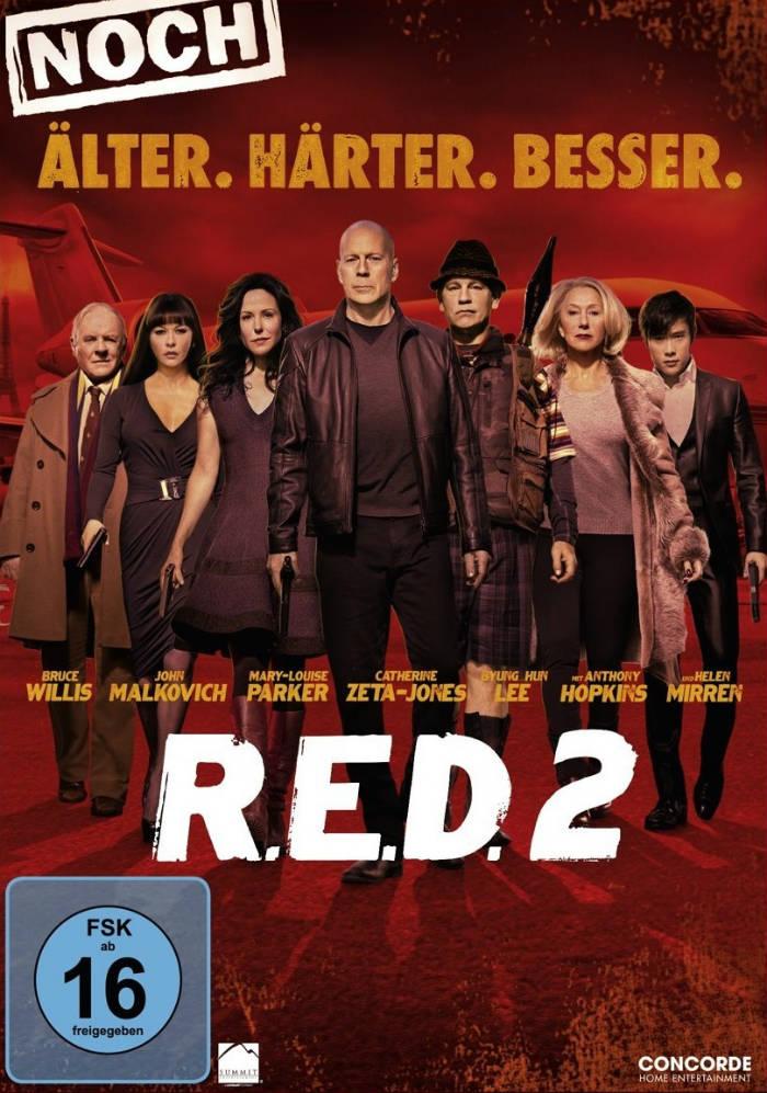 R.E.D. 2 - Noch Älter. Härter. Besser. | © Concorde Video