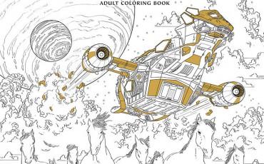 Serenity Adult Coloring Book | © Dark Horse