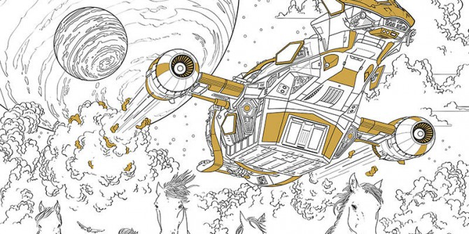 Serenity Adult Coloring Book | © Dark Horse