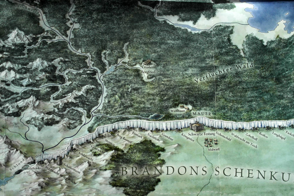Ausschnitt aus Die Länder von Eis und Feuer | © Penhaligon