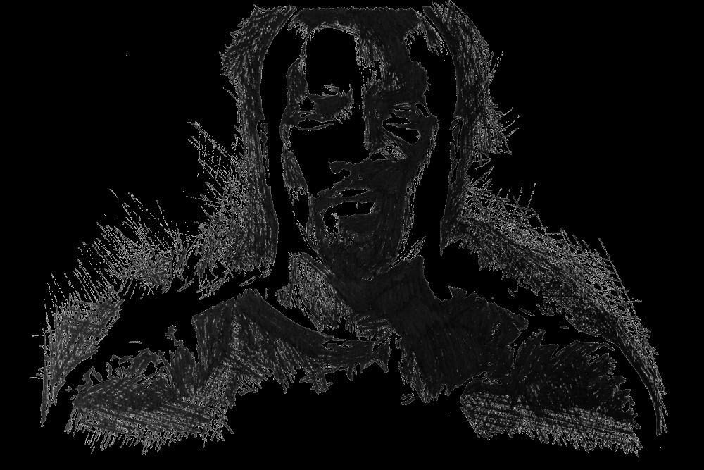 Luke Cage | Zeichnung von Wulf Bengsch
