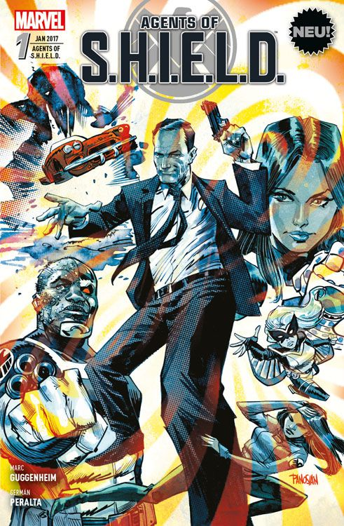 Agents of S.H.I.E.L.D. 1: Die Coulson-Protokolle | © Panini
