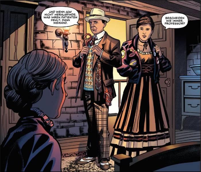 Ausschnitt aus Doctor Who: Gefangene der Zeit 2 | © Panini