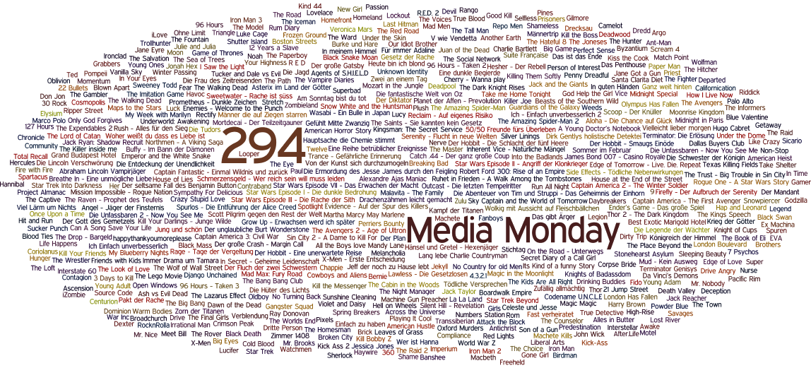 Media Monday #294