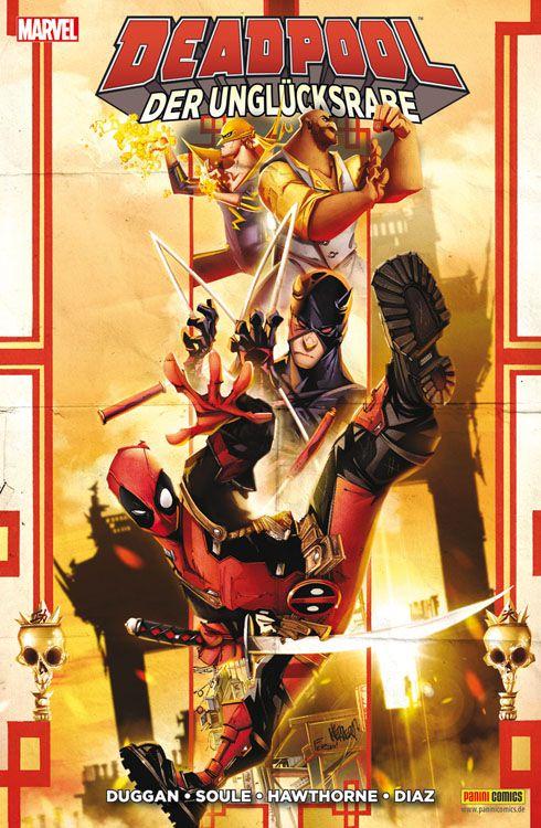 Deadpool: Der Unglücksrabe | © Panini