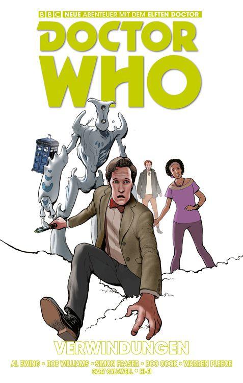 Doctor Who: Der elfte Doctor 3 - Verwindungen   © Panini
