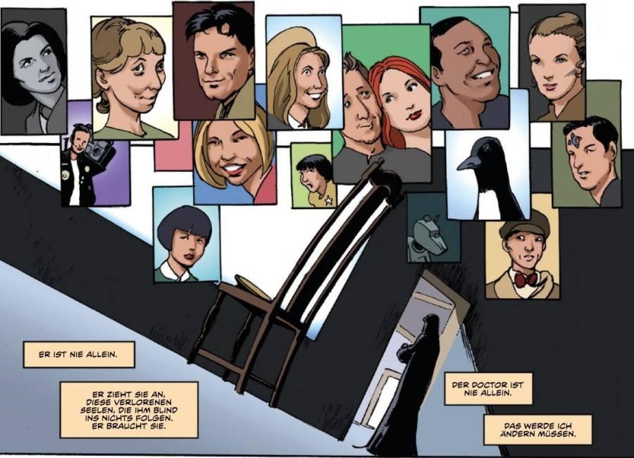 Ausschnitt aus Doctor Who: Gefangene der Zeit 1 | © Panini