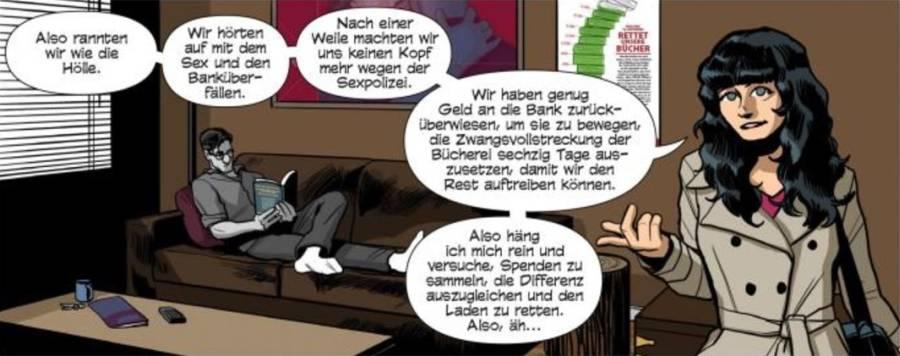 Ausschnitt aus Sex Criminals 2: Die Sexpolizei kommt | © Panini