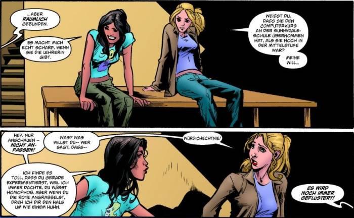 Ausschnitt aus Buffy The Vampire Slayer, Staffel 8, Band 4: Jetzt kommt Fray! | © Panini