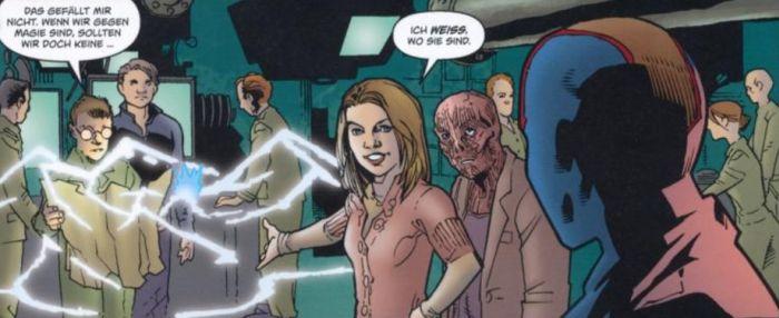 Ausschnitt aus Buffy The Vampire Slayer, Staffel 8, Band 6: Rückzug | © Panini