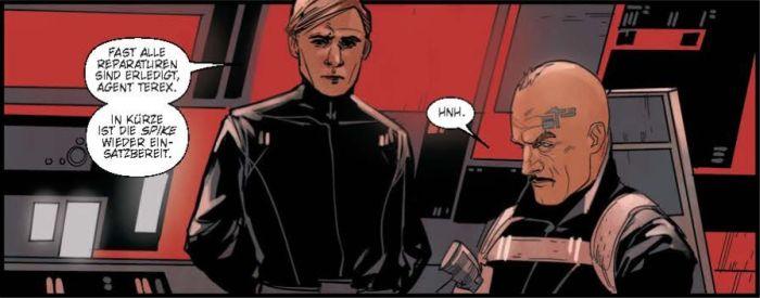 Ausschnitt aus Star Wars: Poe Dameron 2 - Inmitten des Sturms | © Panini