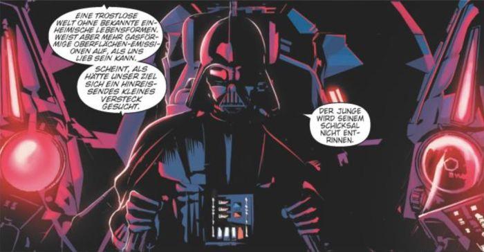 Ausschnitt aus Star Wars: Vader Down | © Panini