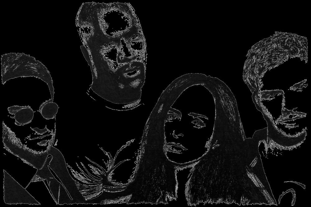 The Defenders | Zeichnung von Wulf Bengsch