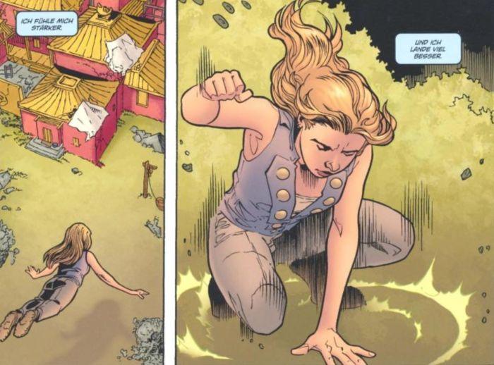 Ausschnitt aus Buffy The Vampire Slayer, Staffel 8, Band 7: Im Angesicht der Dämmerung | © Panini
