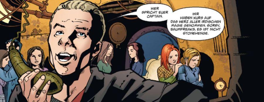 Ausschnitt aus Buffy The Vampire Slayer, Staffel 8, Band 8: Der letzte Widerstand | © Panini