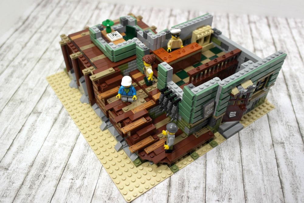 LEGO Alter Angelladen im Bau
