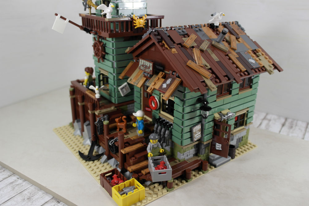 LEGO Alter Angelladen komplett