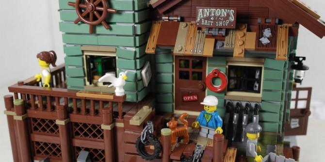 LEGO Alter Angelladen
